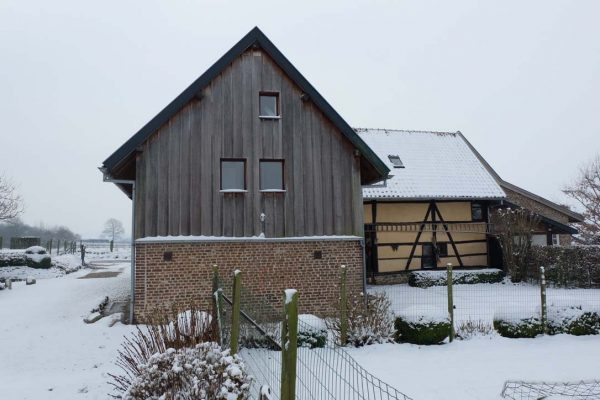 Vakwerkboerderij Mechelen winter